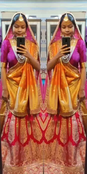 #roposo #roposostars #bridalwear #bridesofindia #bridemakeup #bridalweargoals #roposobride #bridelook #roposoindia #roposoweddings #wedding #roposocamera