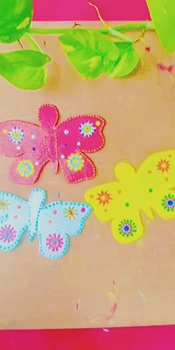 #homedecor#wallhanging#butterfly#handmadeproducts#handicraft#handmadeproducts#instagram#followmeformoreupdates#followmeoninstagram