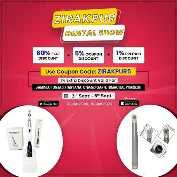 Dentmark - Zirakpur Dental Show  #dentmark #sale #discounts #offers #discountsales #northindia #bigsale