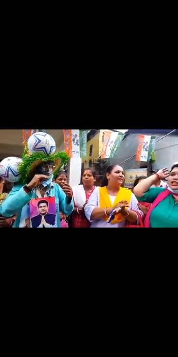 #KhelaHobe slogans begin in #Bhawanipore after #mamatabanerjee  filed her nomination #Kolkata #politics
