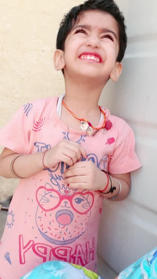 #my  so cute little girl 👧