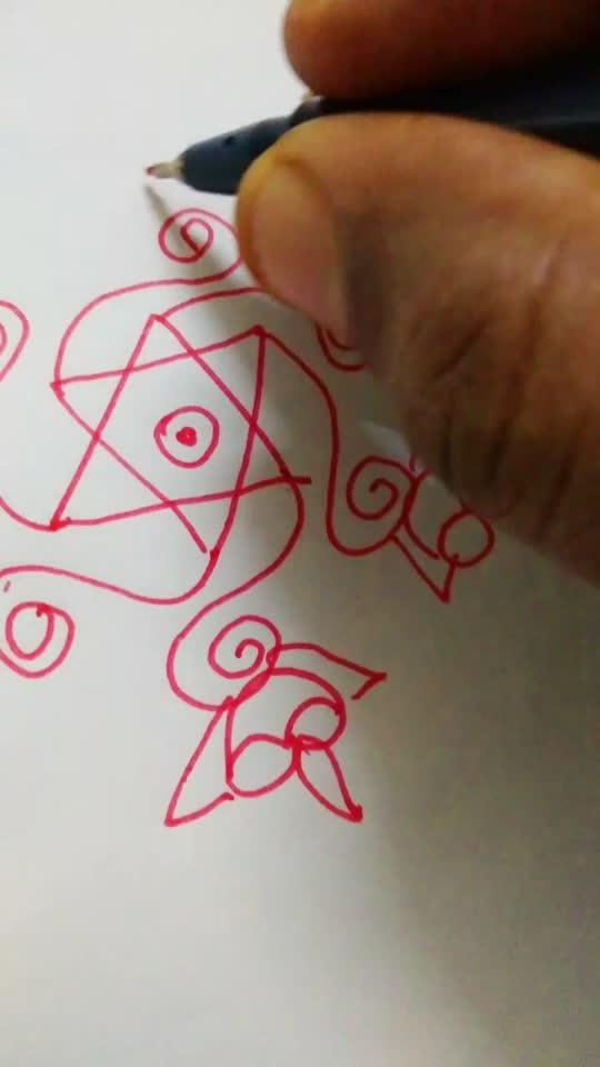 #trindingvideo#roposobeats#ssprangoli#rangoliborder#creativespace#kolam#rangoli