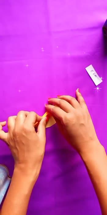 very very easy paper ribbon tutorial #papercraft #ribbon #artistofroposo #glancexroposo #creativespace