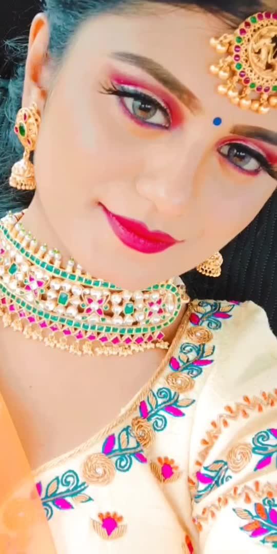#share #comment #like #traditional #trend #trending #roposo #roposostar #halfsaree #bangalore #raisingstar #platinum