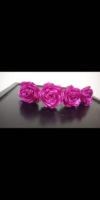 💟 Ribbon roses 🌹