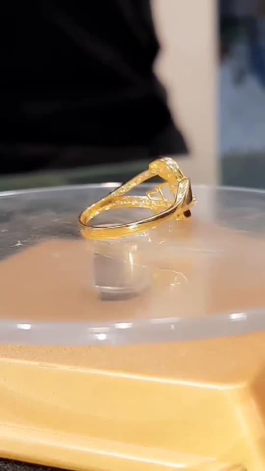 #goldrings #roposo #rings