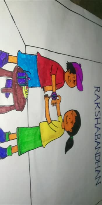 #mydrawingskills#bhaibahan
