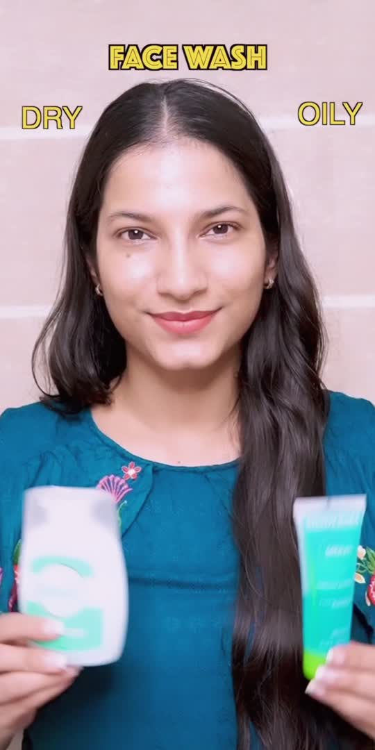 Skincare product recommendations for dry and oily skin types❤️ followe on Instagram for more such videos. Instagram handle: Geetikagia