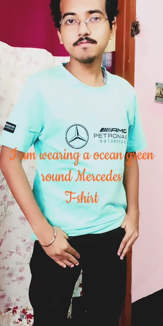 I've styled 1 round neck mercedes T-shirts with black denim jeans and 1 blue hoodies.Let me know how is it looking. #stylewithme #fashionblogger #tshirtstyle #mercedes #roposolove #roposoindia #roposostar #brandamassador